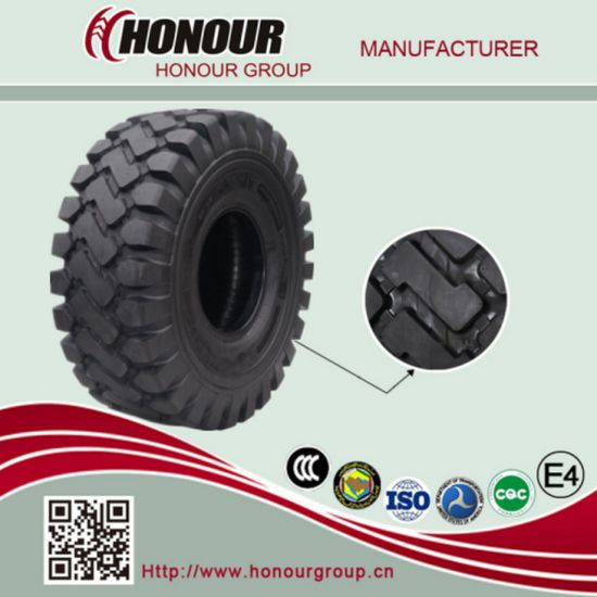 E3/L3 OEM Nylon Bias Earthmover Loader Grader OTR Tire (29.5-25, 26.5-25, 23.5-25, 20.5-25, 17.5-25, 1600-25)