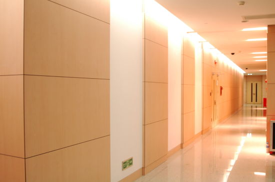 Interior Waterproof HPL Hospital Wall Paneling Designs