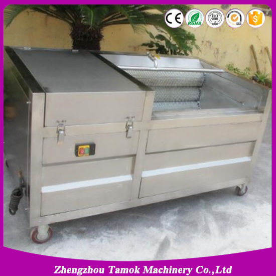 Cassava Washing Peeling Machine Fruit and Vegetable Washer pictures & photos