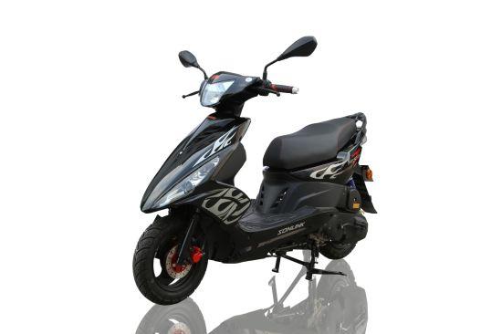 125cc High Speed Street Alloy Wheel Scooter (SL100T-A1)