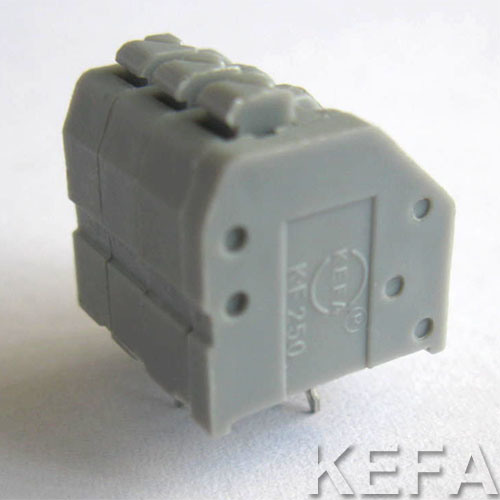 PCB Spring Terminal Block Kf250 pictures & photos