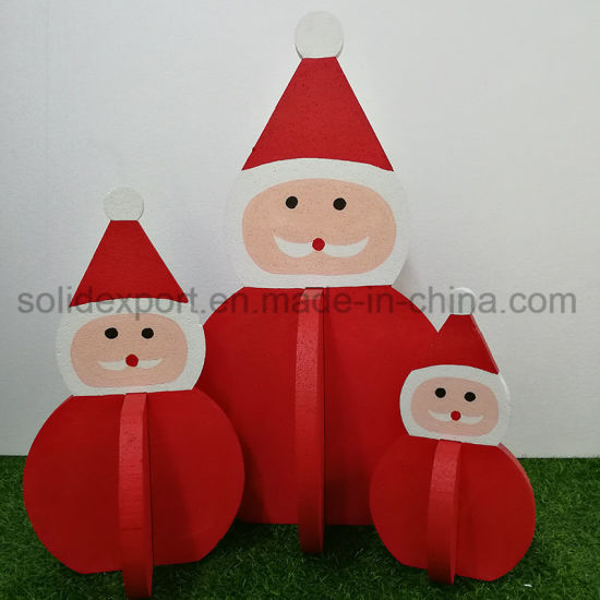 Christmas Shop Window Decoration Santa Claus Sleigh Display Props Home Decoration