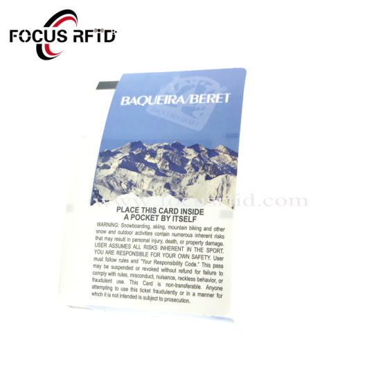 Cheap Cost Disposable RFID Paper Card for Dining Hall