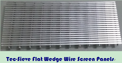Tec-Sieve Flat Wedge Wire Screen Panels