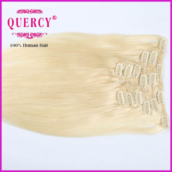 Wholesale Human Hair Extensions Clip Hair Brown Remy Hair pictures & photos