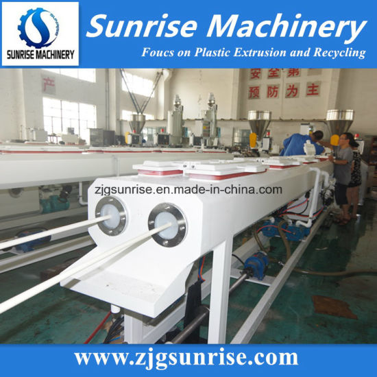 Automatic Plastic PVC Pipe Extrusion Line pictures & photos