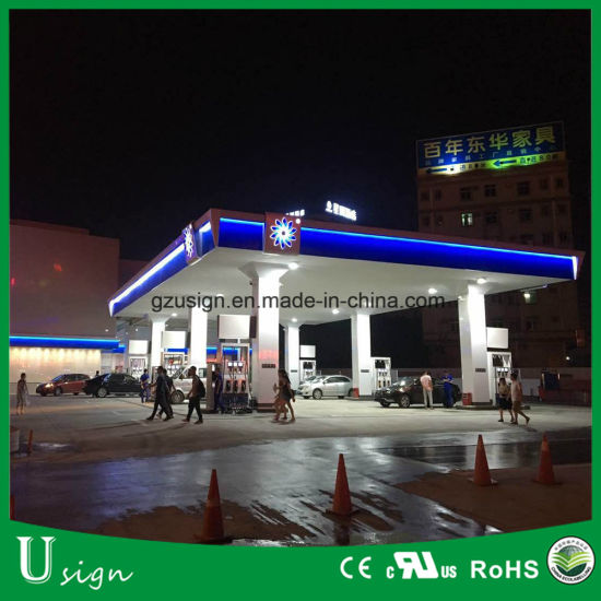 LED Gas Station Canopy Lights Price Sign