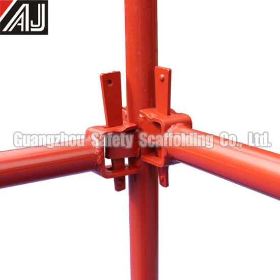 Metal Kwikstage Scaffolding System for Building Construction Project, Guangzhou Manufacturer