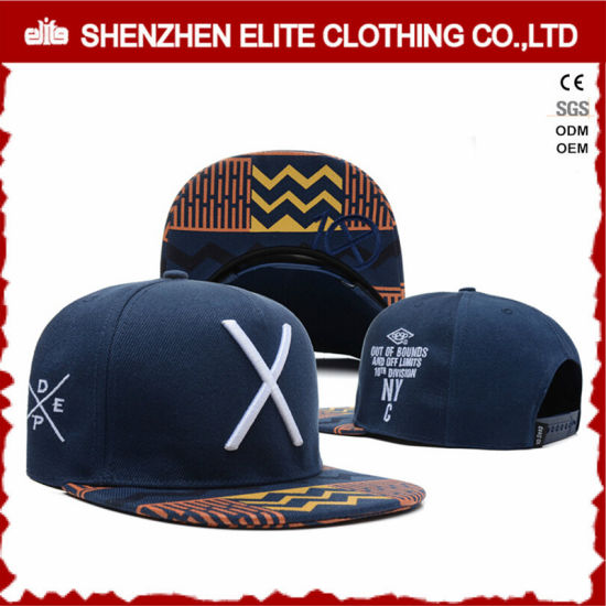 China Wholesale Custom Straps Embroidery Snapback Hats No Minimum ... 5d5c3bd06a6