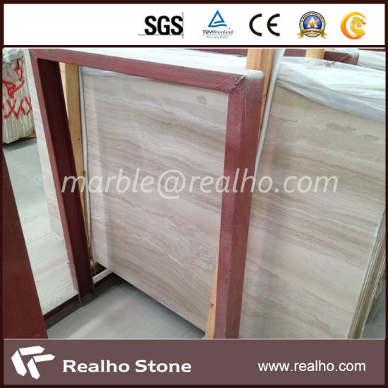 Polished Natural Marble Slab Price for Daino Real pictures & photos
