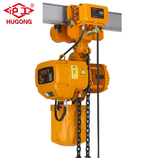 China High Quality Construction Crane Electric Chain Hoist