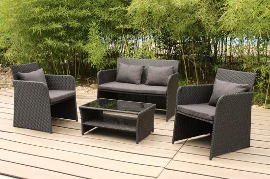 China Modern Luxury Outdoor Furniture Garden Patio Wicker Rattan