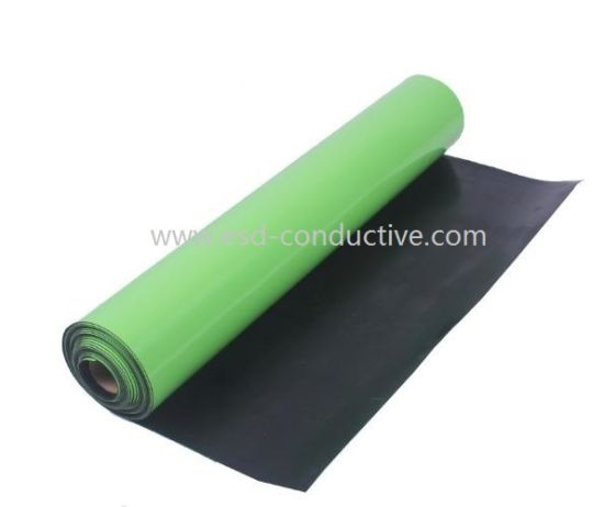 Odor Free Fruit Green ESD Anti-Static Rubber Table Mat