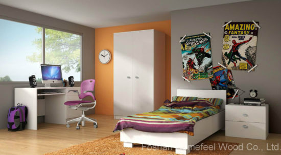 Modern Wooden Children Bedroom Furniture (HF-EY08102)