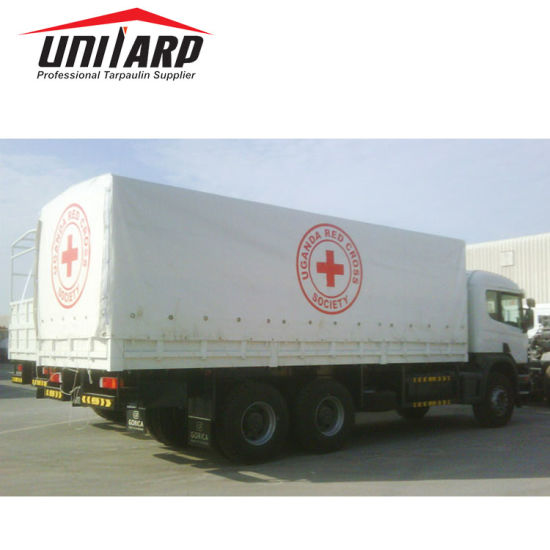 Logo Printed PVC Tarpaulin Customized Cargo Trailer/Truck/Cargo Cover
