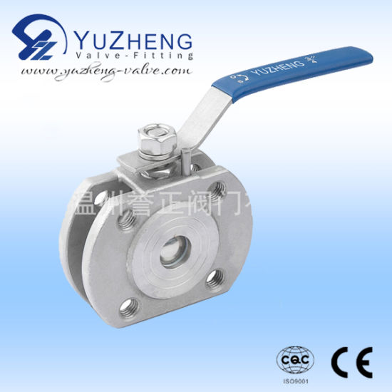 1PC Wafer Ball Valve Forged Type Handle Lever