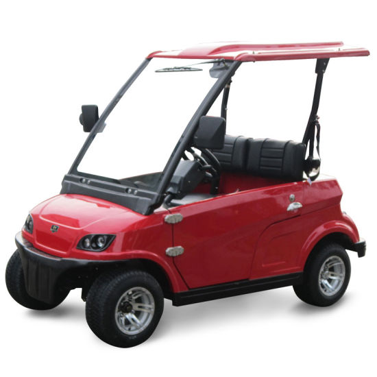China Street Legal Electric 2 Seat Small Cars for Sale Dg-Lsv2 with ...