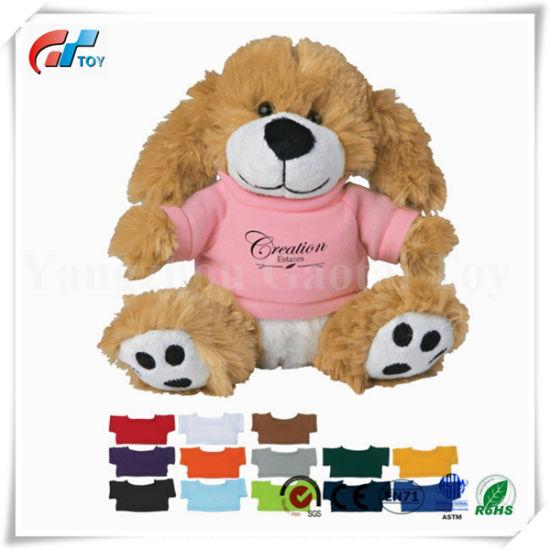 Professional Gift T-Shirt Long Ear Bunny Custom Wholesale Bunny Plush Toy