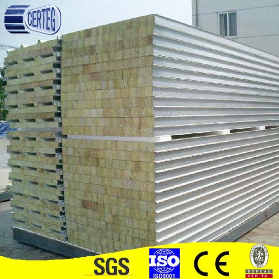 High density rock wool wall panel