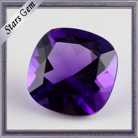 Clear Amethyst natural stone 6mm
