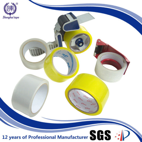 Brand Sticky Box Sealing Yellow Carton Sealing Tape pictures & photos