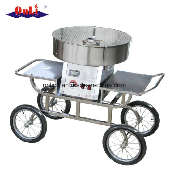 Professional/Commercial Cotton Candy Floss Machine Cart and Umbrella pictures & photos