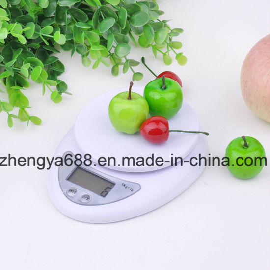 Digital Health Food Kitchen Scale 5000g X 1g