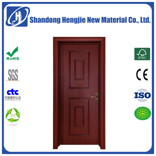 China Eco Friendly Waterproof Fire Rated Wpc Interior Door With