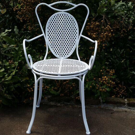 Sensational China Hot Selling Home And Garden Metal Iron Folding Chairs Ncnpc Chair Design For Home Ncnpcorg