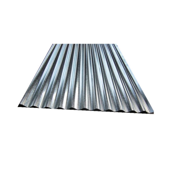 Building Material Gi Galvanized Corrugated Wave Steel Roof Sheet