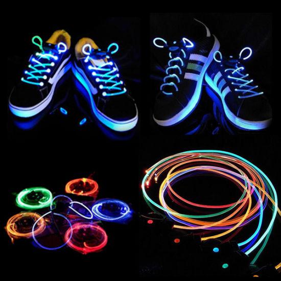 9a96af2607f New Fashion LED Shoe Laces   Glow Shoelaces   Flashing LED Shoes Lace  pictures   photos