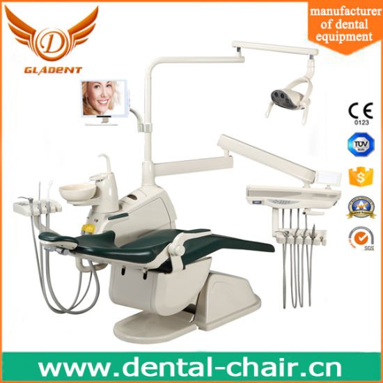 Gladent Ce Approved Dental Unit Controlled by Foot Pedal pictures & photos