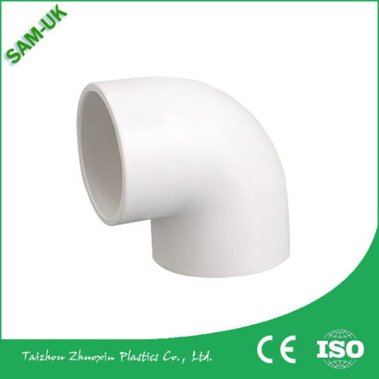 An06 Sam-UK China Taizhou Pipe Connection Wholesale PVC Elbow