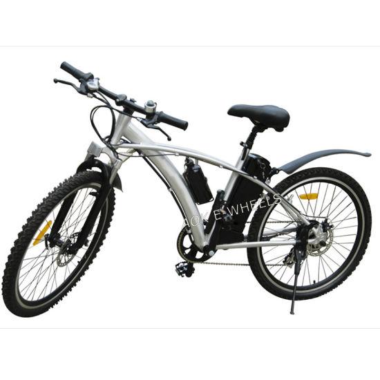 Aluminium Alloy Lithium Battery Mountain Electric Bike (TDE-002)