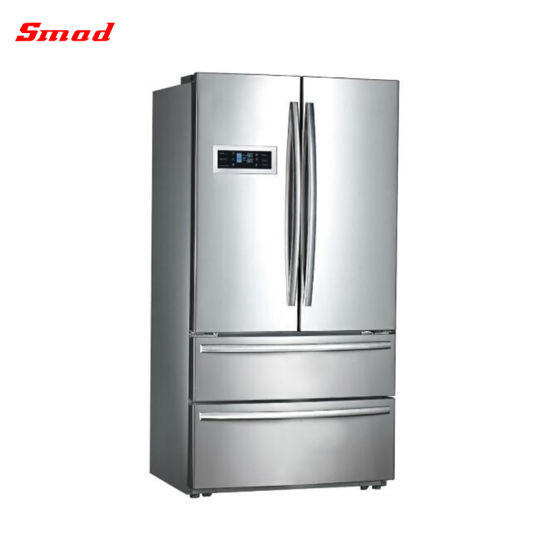 No Frost French Door Side By Refrigerator With Icemaker