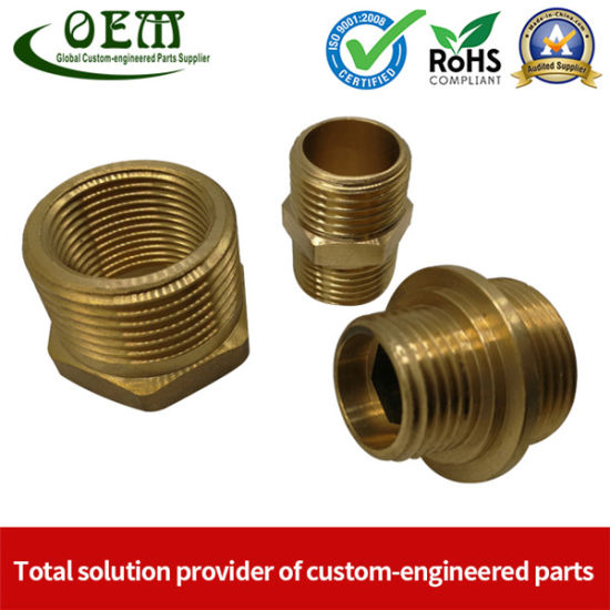 Brass CNC Turned Turning Parts