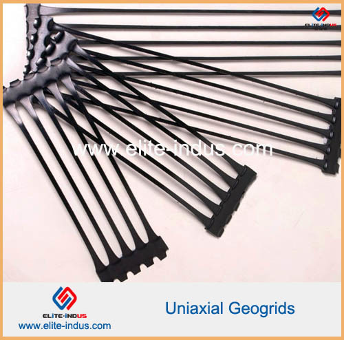 HDPE Ux Geogrids HDPE Uniaxial Geogrid 50kn to 260kn pictures & photos