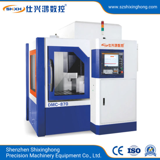 DMC-870 CNC High Speed Carving Milling Machine for Metal Parts, Stainless Steel, 3c Products, Mold, Auto Parts, Telecom Device, Hardware Processing