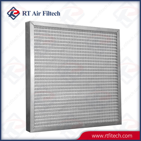 Metal Mesh Primary Filter for High Temperature Ventilation System