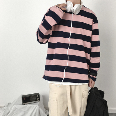 Long-sleeve men′s T - shirt with round neck sweater pictures & photos