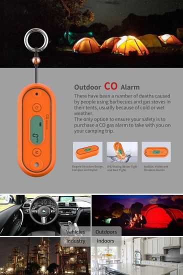 Wholesales Wilderness Co Gas Detector, Carbon Monoxide Alarm