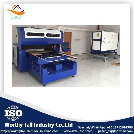400W 600W 1000W 1500W 1218 1325 Die Board Laser Cutting Machine