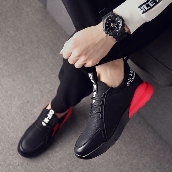 Autumn British Style Shoes Men Fashion Shoes with Korean Casual pictures & photos