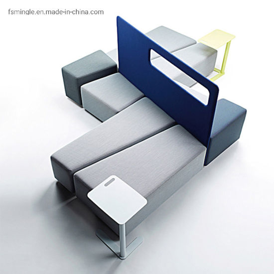 Customized Loose Furniture Public Bench Seating Leisure Seatin for Office Public Area