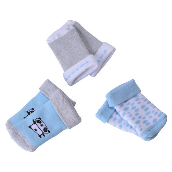 Cute Babies Kids Plain Cotton Panda Pattern Socks Wholesale