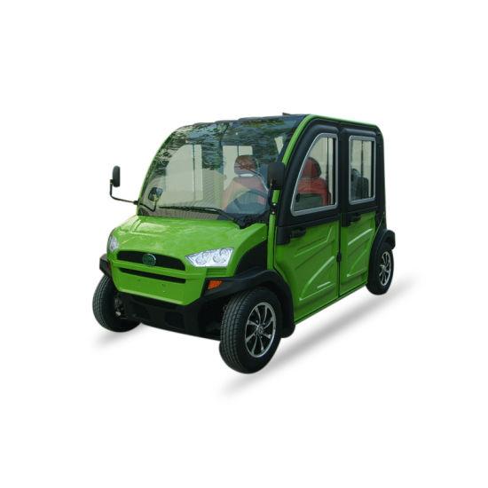 2019 New Electric Car 4 Seats Closed Small Electric Mini