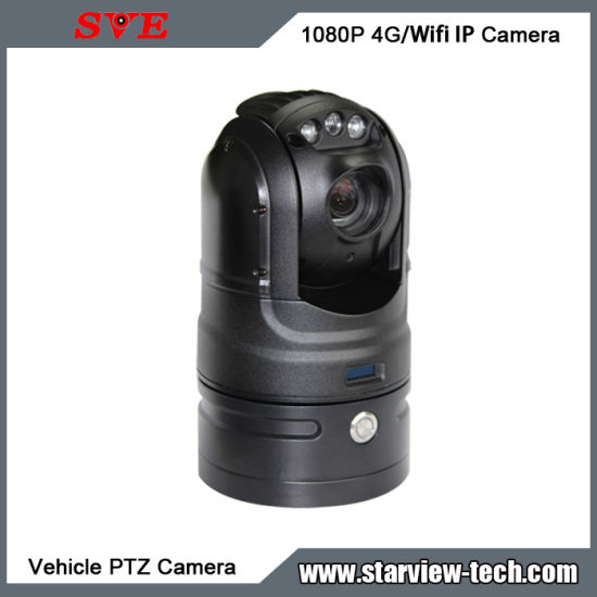 Portable 1080P 4G/WiFi Rapid Deployment PTZ Waterproof Rugged Vehicle IP Camera