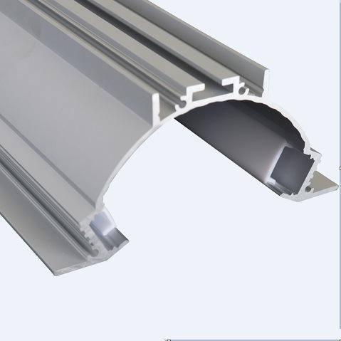 China 1000*101*75mm LED Pendent Aluminum LED Profile Surface
