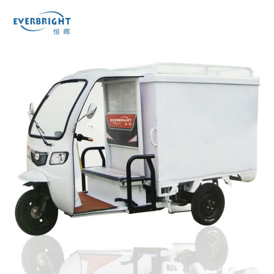 3 Wheel 60V800W Motorcycle Mini Cargo Electric Tricycle for Express Delivery pictures & photos
