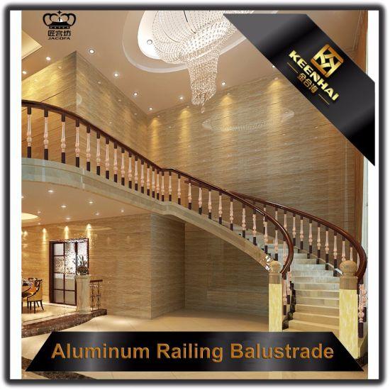 China Villa Decoration Luxury Indoor Balcony Aluminum Handrail ...